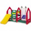 Детский игровой центр Дом с горкой и качели Haenim Toys малый