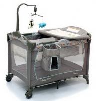 Манеж-кровать трехуровневый Baby Care Fantasy