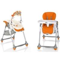 Стульчик для кормления 2 в 1 Brevi B.Fun + шезлонг для новорожденного