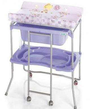 Ванночка для новорожденного Brevi Lido Split system