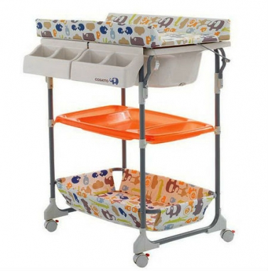 Пеленальный столик с ванночкой Cosatto Squeeki Clean