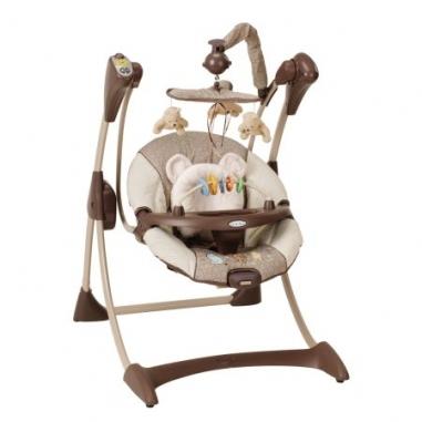 Электронные качели Graco Silhouette для новорожденных