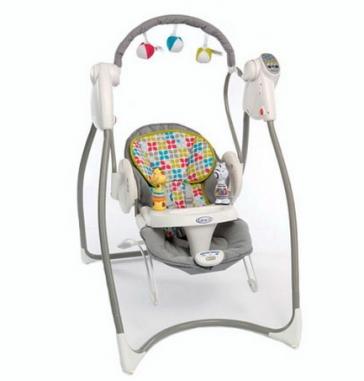 Качели для новорожденных Graco Swing`n Bounce