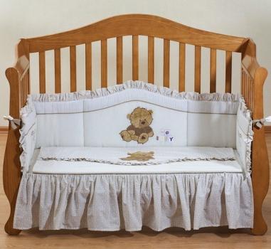 Комплект постельного белья для новорожденного Giovanni Teddy Ivory