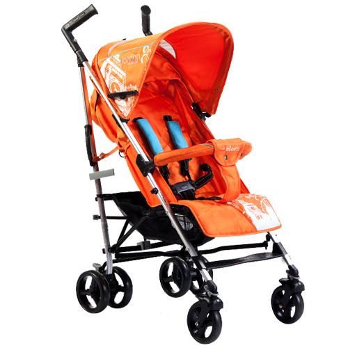 Jetem london цвет оранж коляска трость jetem
