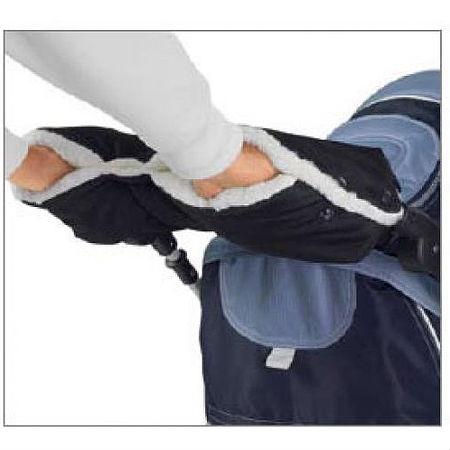 Муфта для рук на коляску сохранит драгоценное тепло нежных маминых рук.